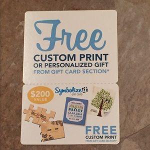$200 Gift Card to SymbolizeIt.com